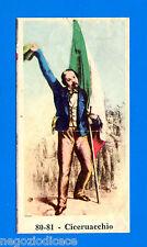 CENTENARIO UNITA D'ITALIA - Figurina-Sticker n. 80-81 - CICERUACCHIO -Rec