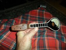 Vintage GREEK BOUZOUKI GUITAR MUSIC BOX Works ! Has External Damaged !