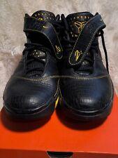 9b66b51e69d Rare Nike Zoom Kobe II 2 Carpe Diem Black Maize Gold 316022 001 Size 8