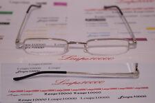 lunettes loupes de lecture demi-lune métal gris argenté réf L7002 COL3 N° TOP 07