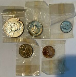 us coins 1954 PROOF SET IN BOX, ORIGINAL
