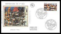 France (Centenaire du 1er Mai) 1990 - FDC