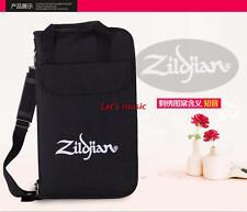 Zildjian Super Line Drum Stick Bag for Drumsticks/Mallets - Black soft case
