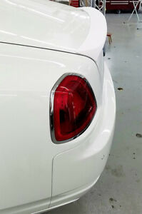 Rolls-Royce Ghost 2010-16 Tesoro  Rear Trunk Lip Spoiler Flush Mount Made in USA