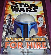 STAR WARS - BOUNTY HUNTERS FOR HIRE -32 PAGE BOOK- (BRAND NEW)