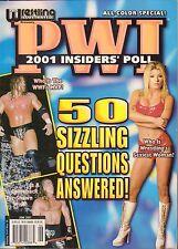 Pro Wrestling Illustrated PWI June 2001 VG 072716DBE