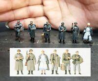 1/72 Resin Go back Home German Soldiers 6 Set Unassembled Unpainted WK040