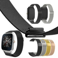 """Milanese Loop Stainless Steel Watch Band For ASUS Zenwatch 2 1.45"""" / 1.63"""""""