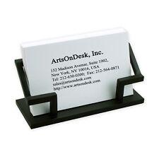 ArtsOnDesk Modern Art Business Card Holder bk301 Steel Back