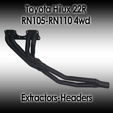 Toyota HiLux/4Runner 4WD Extractors/Headers, 22R RN105-RN110, 4cyl Petrol 89-96