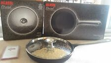 """ALESSI Dressed Collection FRYING PAN 9 1/2"""" 24cm Marcel Wanders NEW in box + LID"""