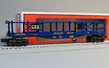 Lionel Csx Bi Level Auto Carrier o train car automobile vehicle 6-82081 New