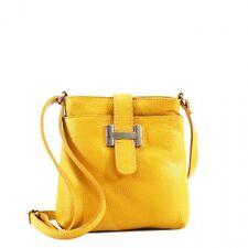 New Womens Ladies Designer Real Leather Crossbody Bag Beautiful Style Handbag