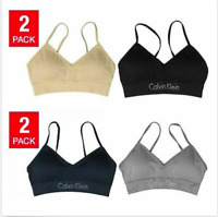 Calvin Klein Ladies' Seamless Bralette, 2-pack, NEW! *Free Shipping* ($ 14.97)