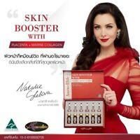 Auswelllife Skin Booster Placenta+Marine Collagen Reduce Dark Spots Wrinkle Frec