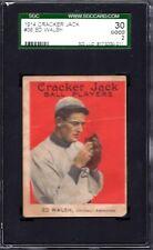1914 Cracker Jack #36 Ed Walsh  SGC 30 = 2