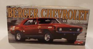 1/18 1969 Chevrolet 427 SS Camaro Berger G1800325  BOX ONLY