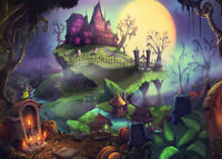 1000pcs Halloween Pumpkin Haunted House Jigsaw Puzzle Educational Toys Gifts