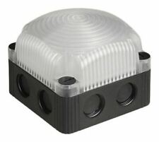 LED, Steady Beacon 853 Series, Clear, Base Mount, 24 V dc