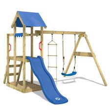 WICKEY TinyPlace Parco gioco Casetta gioco da esterno in legno Altalena Scivolo