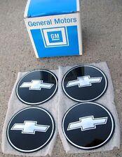 NOS 70-81 Camaro Chevelle Nova Chevy SS rally wheel hub cap RARE bowtie emblems