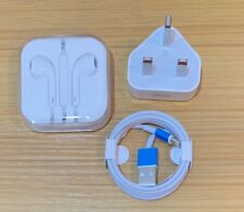 Apple iPhone 5 5s 6 6s 6 Plus Charging Lightning Cable & Headphones