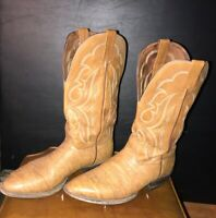 NOCONA Brown Leather Western/Cowboy Boots Size 11.5 D