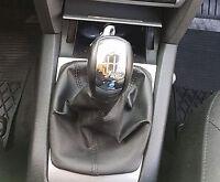 Genuine Leather Gear Shift Boot Gaiter Cover Sleeve fit Skoda Octavia II 2004 -