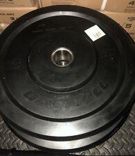 New - 35lb CAP Rubber Bumper Plate Pair - 2 x 35lb  = 70 lbs total