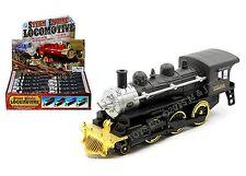 "TRAIN DISPLAY 7"" STEAM ENGINE LOCOMOTIVE DIECAST CAR MC-55995"