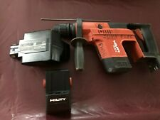 Hilti Te5a 24v Cordless Hammer Drill With Battery Amp Adapter No Charger