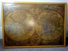 Orbis Terra Compendiosa Framed Vintage World Map