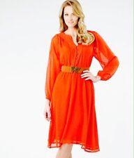 Women's Matthew Williamson Orange Summer Dress PLUS SIZE 16 BNWT RRP £55