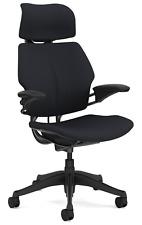 Humanscale Freedom F211 Graphite Wave Fabric Ergonomic Office Desk Chair