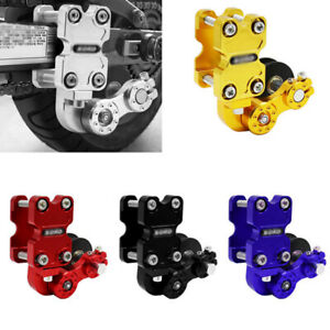 Uninversal Motorcycle Chain Adjuster Chain Tensioner Automatic Adjuster Aluminum