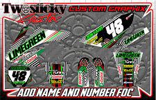 HONDA CRF 125/150/250/450  MOTOCROSS MX GRAPHICS STICKERS   ALL YEARS /