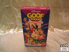 Disneys Goof Troop - Banding Together (VHS, 1993) Good
