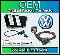 VW MDI Kit media in, VW Amarok iPod iPhone USB lead connection, GENUINE PART