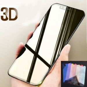 For iPhone 11 Pro Max 8Plus X Temper Glass Film 3D Mirror Color Screen Protector