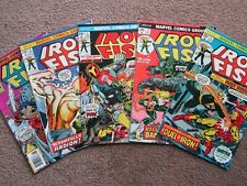 NOS>NM > Lot of 5 IRON FIST 1 2 3 4 5 comic book >CGC READY ! key issue 1st solo