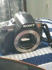 Sony Alpha DSLR-A330 10.2MP Digital SLR Camera - Black (Body Only For Parts)
