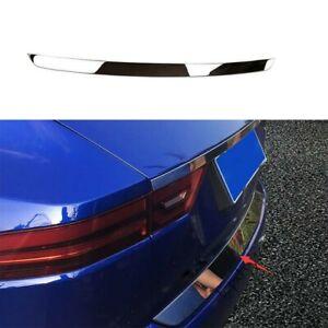 Fit Jaguar E-PACE 2018-2020 Chrome Steel Rear Door Trunk Lid Tailgate Strip Trim