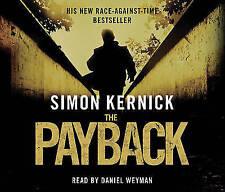 THE PAYBACK BY SIMON KERNICK AUDIO CD BOXSET 3-DISC DANIEL WEYMAN NEW/SEALED