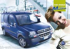 FIAT DOBLO DOBLO 'MALIBU PROSPEKT 8/03 brochure 2003 auto automobili Pubblicità Italia