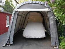 ShelterLogic 10x16x8 Round Shelter Portable Garage Steel Carport Storage 77823