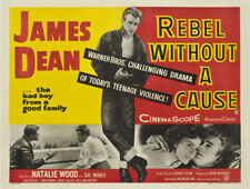 Rebel without a cause James Dean movie poster print #12