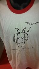 """THE """"GOAT"""" XL T SHIRT NEVER USED  OR WORN FROM THE MOVIE WAITING"""