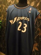 CHAMPION WASHINGTON WIZARDS NO.23 JORDAN BASKETBALL NBA JERSEY / SHIRT 52 XXL