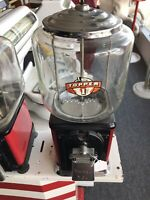 Vintage Topper 1 Cent Gumball Machine W/Key! - 10010
