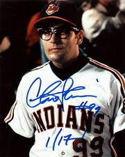 CHARLIE SHEEN.. Major League's Ricky Vaughn - SIGNED